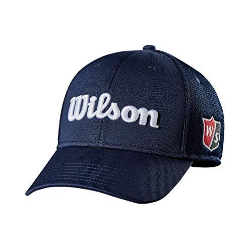 Wilson Staff Casquette de Golf, Tour Mesh Cap, Pour Homme, Bleu, Visière Incurvée, Taille...