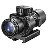 Best Rifle Scopes - JASHKE AR15 Rifle Scope Prism 3.5x30 Red Green Review