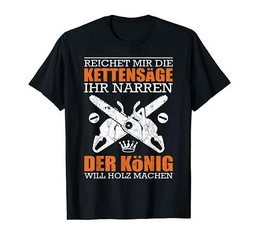 Holzfäller T-Shirt Waldarbeiter Geschenk Forstwirt Fun-Shirt T-Shirt