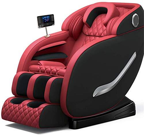 Sillón de masaje Masaje, Silla S-Guía de Manipulador de masaje de cuerpo completo de amasamiento automático de múltiples funciones de escritorios y sillas ingravidez eléctrica silla del sofá ,Multifun