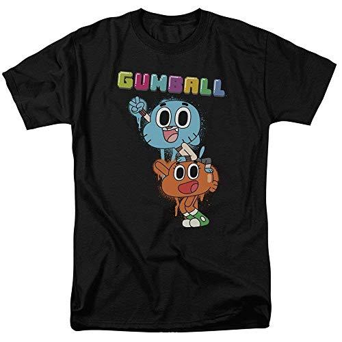 shenguang Amazing World of Gumball - Camiseta de manga corta para hombre