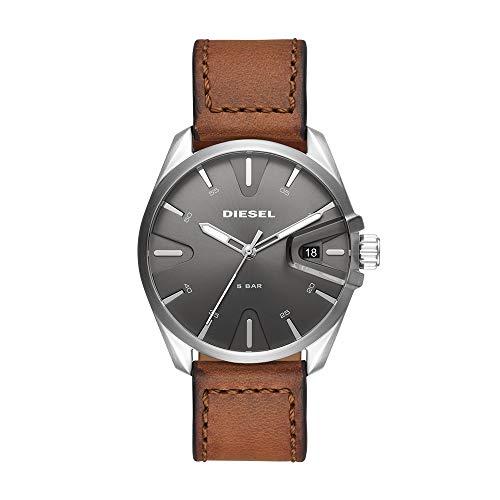 Reloj Diesel Ms9 para Hombres 44mm, pulsera de Piel de Becerro