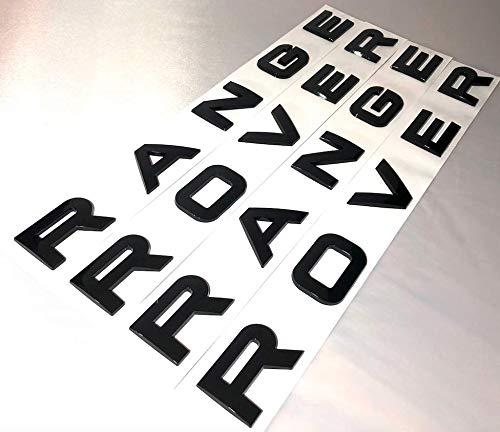 2 x Original-Buchstaben für Motorhaube, Kofferraum, Evoque, Sport, Velar, Vogue.