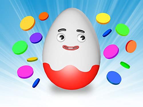 Lernen Sie Farben mit Eiern und einer Mikrowelle
