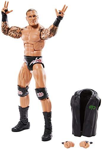 WWE GKY06 - WWE Elite Collection Action Figur (15 cm) Randy Orton mit realistischen Gesichtszügen, bewegliche Spielzeug Actionfigur ab 8 Jahren