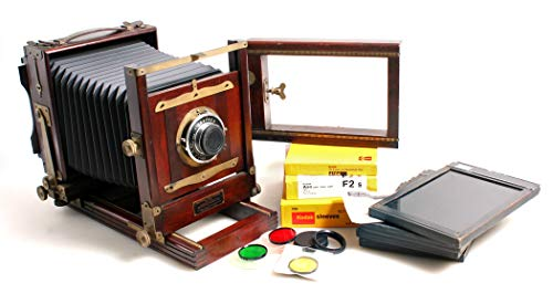Best Price 5x7 Bellows Camera No.2-D & 162mm F4.5 Lens//Eastman View Camera//Vintage Camera