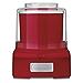 Cuisinart ICE-21R Frozen Yogurt-Ice Cream & Sorbet Maker, Red(Renewed)
