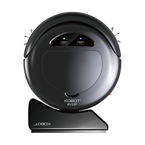 Buy Discount Techko Kobot RV337-BK Kobot Robotic Vacuum with Auto Charging Home Base, Black