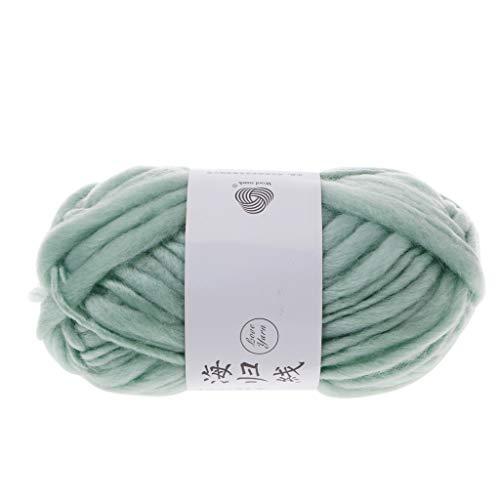 niumanery isländischen Plüsch Wollpullover Chunky Wollgarn Super sperrige Arm Strickwolle Roving gestrickte Decke Garn und 250G 3#