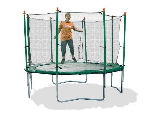 New Plast 41540 - Tappeto Elastico con Rete Protettiva, diametro 427 cm