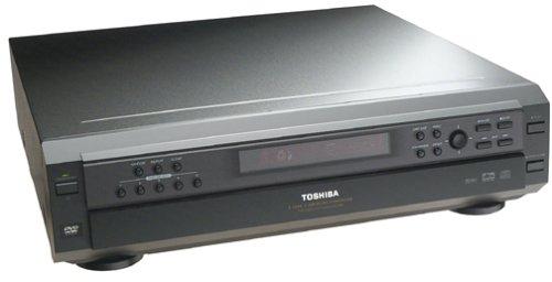 Toshiba SD2805 5-Disc Carousel DVD and CD Player