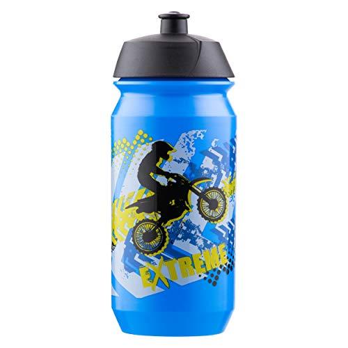 Baagl Schule Trinkflasche für Mädchen - Kinder Wasserflasche für Unterwegs - BPA frei, 500 ml