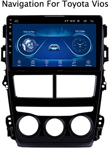 YDYDYD Android 8.1 táctil de navegación GPS de la Pantalla de Toyota Vios Yaris 2018 Rueda Bluetooth/AUX/DVD/Dab/dirección/Wi-Fi / / Espejo de Enlace de Radio del Coche del USB,Mod.