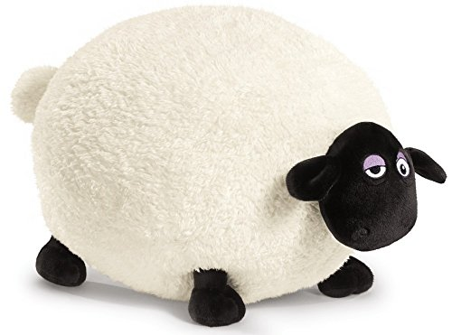 NICI 39659 Shaun The Sheep Plüsch, weiß