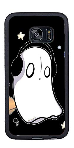 Undertale Napstablook Hard Plastic Phone Cell Case for Galaxy S7 Edge