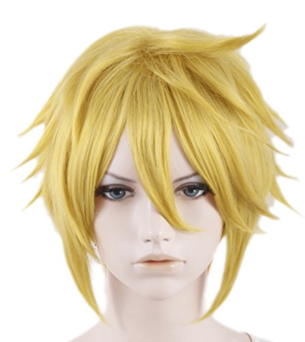 Xcoser Handsome Short Yellow Link Cosplay Wig For Cosplay Costume Accessories - http://coolthings.us