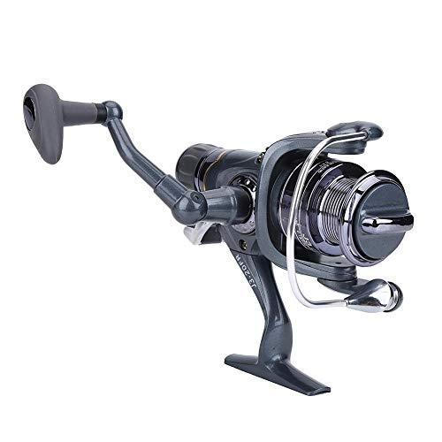 Weiyiroty Carrete de Pesca, Carrete de Pesca Duradero Giratorio, Robusto y Duradero Funcionamiento Suave ABS para Aparejos de Pesca de Carpas Accesorio de Aparejos de Rueda de(20FR)