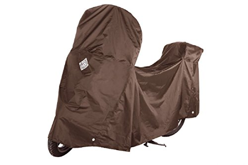 Tucano Urbano 218MA Bike Covers - Cover for small Scooters with top case and windscreen, Braun, Einzig Groesse