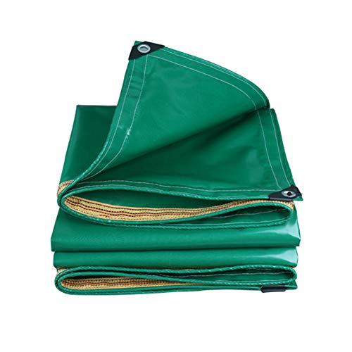 Bâche résistante, imperméable d'auvent de Bateau/RV ou Couverture de Piscine, Tissu de Couverture de PVC w/œillets (Taille : 5x5m)