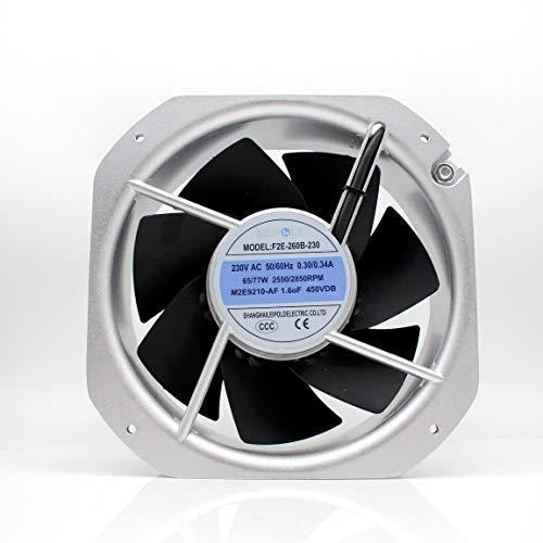 for QVKS F2E-260B-230 22580 AC230V Industrial Cooling Fan
