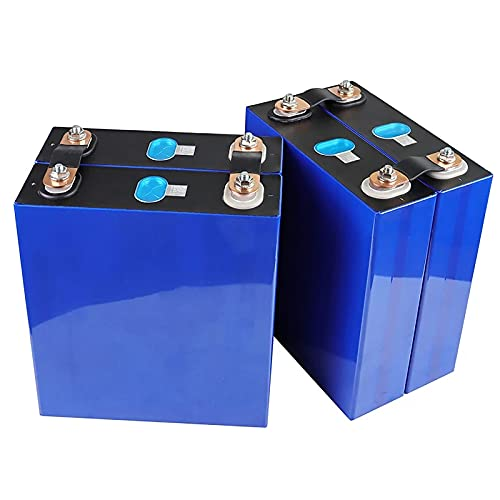 LONGRING 100ah Lifepo4 BaterÍa 4-16pcs 3.2v 12v 24v 48v Pack Nueva VersiÓn Completo Completo Grano Genuino A Un Fuerto De Celulas De Inverterior Free con Barra De Bus,4PCS