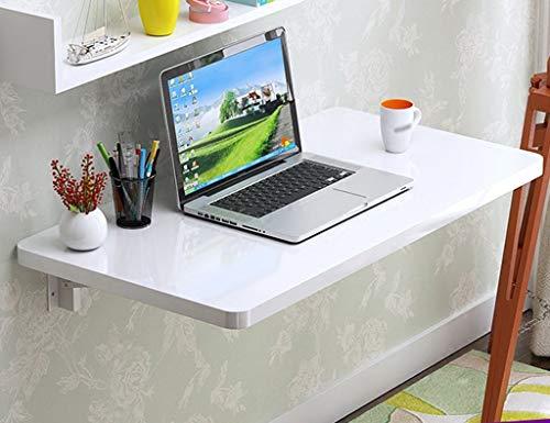LXDZXY Escritorio de computadora de pared montado en la pared - Mesa plegable de pared Escritorio de computadora de madera Mesa de cocina y mesa plegable de pared simple Escritorio de libro d