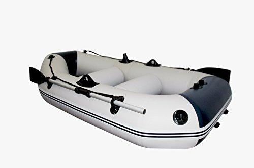 Prowake Schlauchboot IBP230: 230 cm lang mit Lattenboden - ideal für 2 Personen - blau/weiß