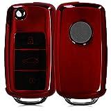 Keyless clave funda rojo para VW Passat b8 arteon skoda kodiaq