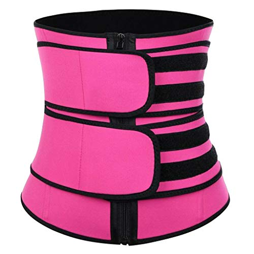 TCTC PostpartumSupport Recovery Belly BeltBody Shaper Corset Belt with High Elastic for Women and Maternity Recovering from Birth, Waist Trainer Belts (Rose, L)
