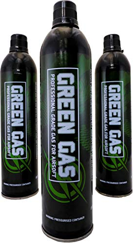 First and Only Airsoft Green gas triple can gas deal (3 x can deal) softair...