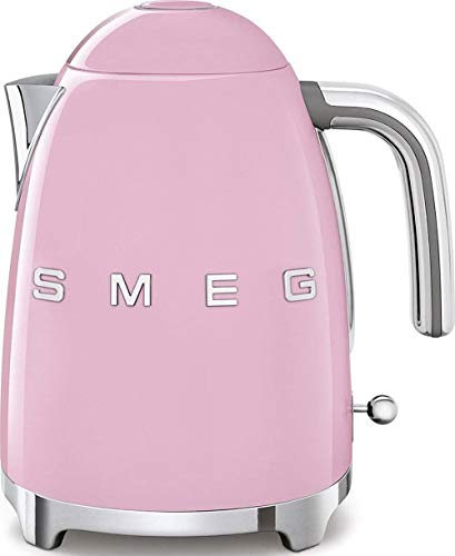 Smeg KLF01PKEU KLF01PKEU-Hervidor de Agua eléctrico, rosa pastel