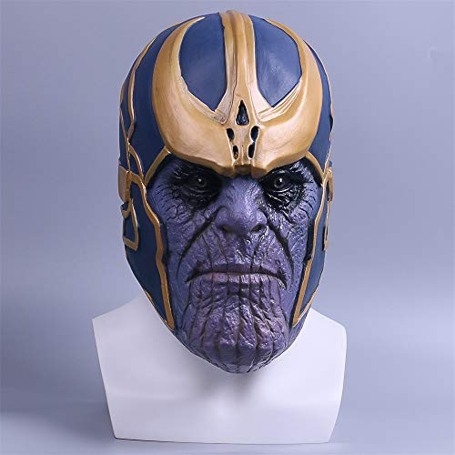 SWAOOS Los Vengadores Thanos Máscara Halloween Fiesta Mascarada Máscaras Cosplay Mascaras De Látex Realista Carnaval Mascara Scary Masque Película