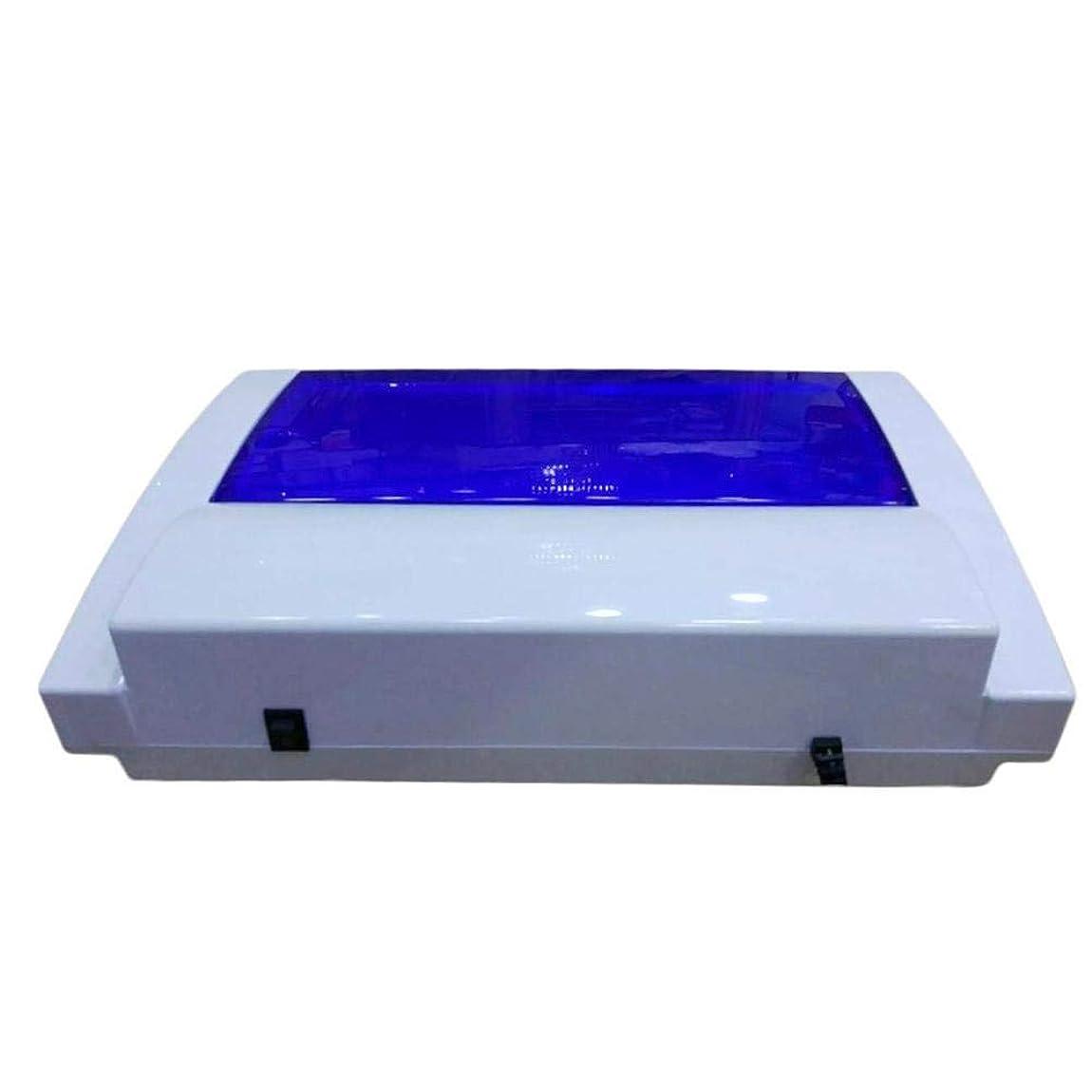 市民透過性主にネイル殺菌装置UV消毒キャビネット高温ドライヤーネイルマニキュアサロンツール治療消毒機