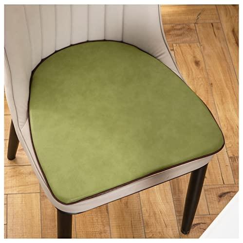 H.Q Cuscini per Sedie da Cucina Cuscini per Sedie da Pranzo in Pelle PU-Tempo Libero Cuscino per Sedie da Casa Antiscivolo (Color : Color 4, Size : 47 * 45cm)