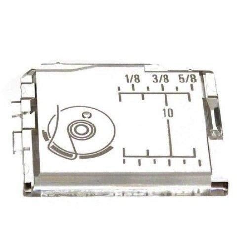 Cutex (TM) Brand Slide Cover Plate - for Elna, Kenmore, Necchi, Pfaff, Viking Sewing Machine -  Cutex Sewing Supplies, 654060003