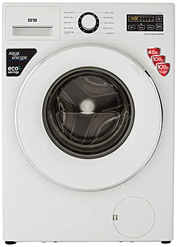 IFB 6 Kg 5 Star Fully-Automatic Front Loading Washing Machine (EVA ZX, White, Inbuilt Heater)