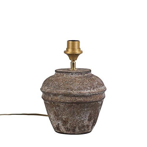 QAZQA Landelijke tafellamp bruin - Arta XS vintage Steen/Beton Bol Geschikt voor LED Max. 1 x 60 Watt