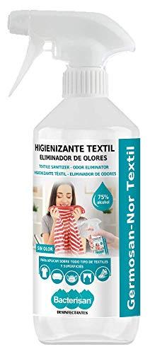 Bacterisan Germosan Nor Textil 500Ml   Higienizante Líquido Para Textil En Spray   Eliminador De Malos Olores   Bacterisan 500 ml