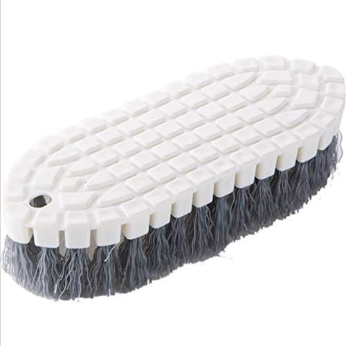 #N/A Blanco Flexible Pp Descontaminación Cepillo de Limpieza Scrub Baño Inodoro Cocina Artículos del Hogar Limpiador Ordenado Suave