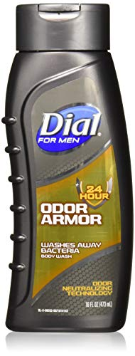 Dial for Men Body Wash, Odor Armor, 16 Ounce (Pack of 3)