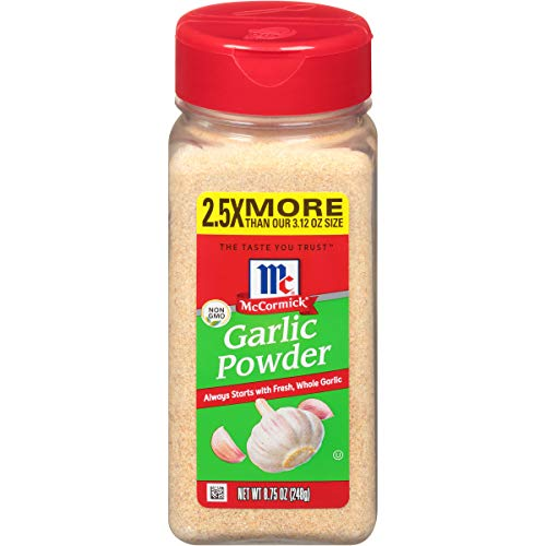 McCormick Classic Garlic Powder, Value Size, 8.75 oz