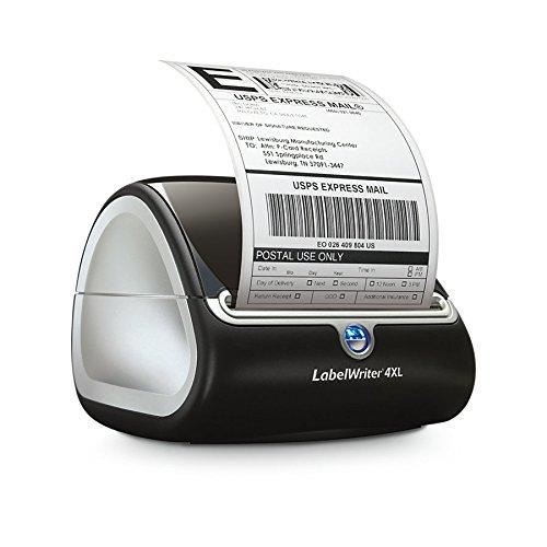 Dymo LabelWriter 4XL Etikettendrucker, für extrabreite Tischetikettendrucker Etikettensystem