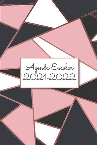 Agenda Escolar 2021-2022: Planificador semanal para niñas   12 meses   Pequeño formato A5   de Primario Colegio Secundaria