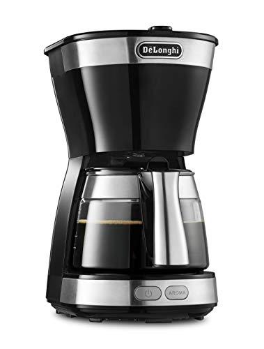 デロンギ(DeLonghi) ドリップコーヒーメーカー ブラック アクティブシリーズ [5杯用] ICM12011J-BK