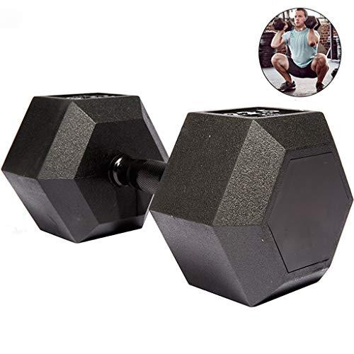 DXIN Hanteltraining Kurzhanteln, 35 kg sechseckiges rutschfestes multifunktionales Fitnessgerät, können für das Krafttraining zur Gewichtsreduktion in der Familie verwendet Werden