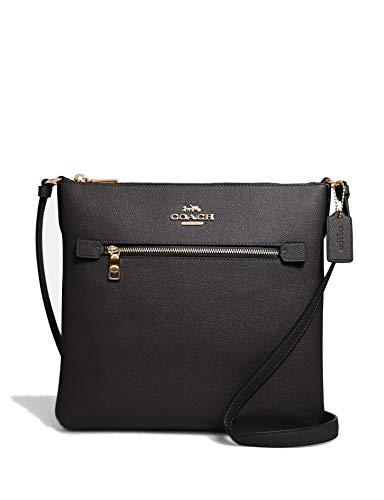 Coach Women's Rowan File Bag (Black)