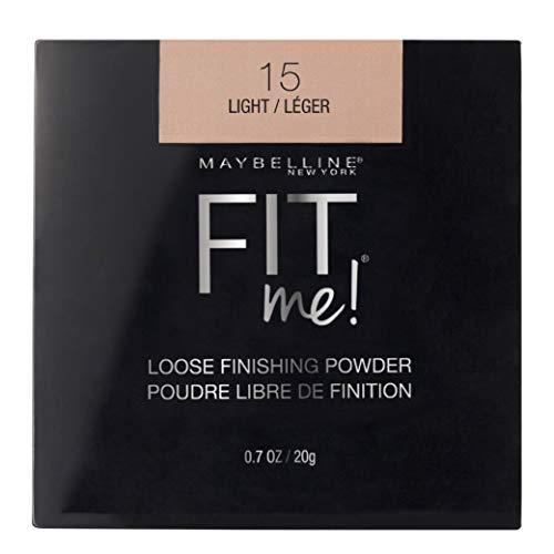 Maybelline New York Fit Me Loose Finishing Powder, Light, 0.7 oz.