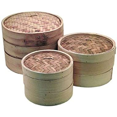 14 inch Bamboo Steamer (Set - 2 racks and 1 lid)