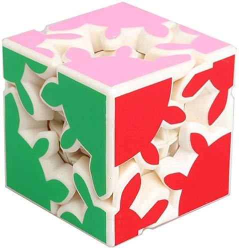 RENFEIYUAN ¡Profesional MA!Creative 2x2x2 Smooth Gear Calidad Educativa Juguete Rubik Cubo (Color...
