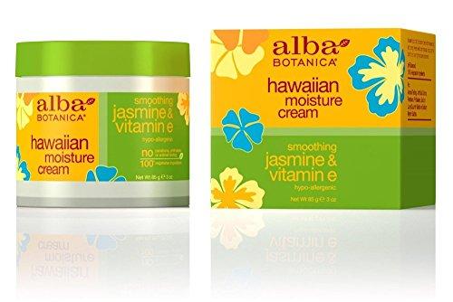 Alba Botanica Jasmine and Vitamin E Moisture Cream, 3 Ounce - 3 per case.